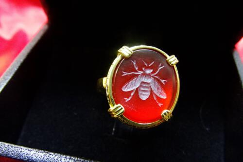 Reda Agate Bee ring
