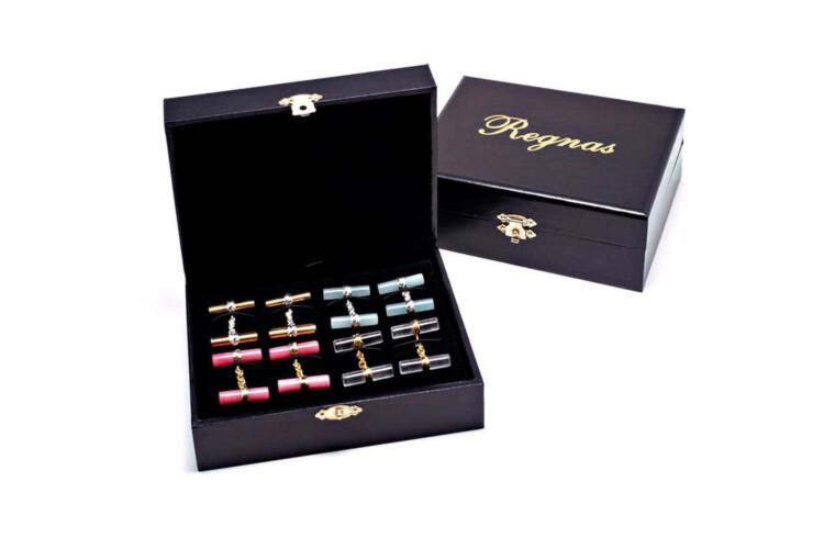 Regnas Double Cylinder Cuff Links Collection – Gift Box