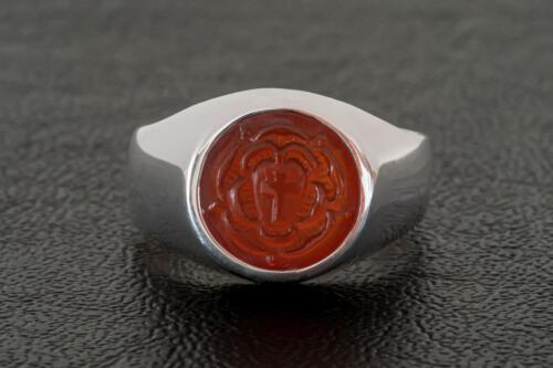 Small Carved Rosicrucian Ring