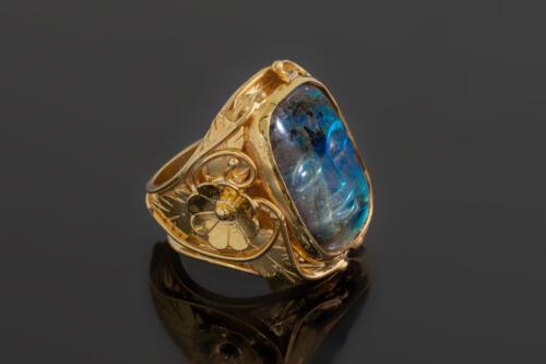Angkor Ring Labradorite