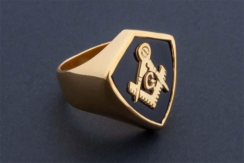 Regnas Masonic Ring