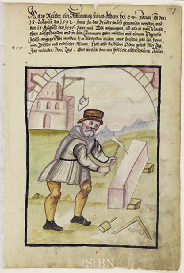 Masons in the middle ages