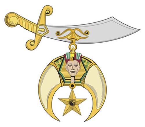 Shriner's Masonic ring